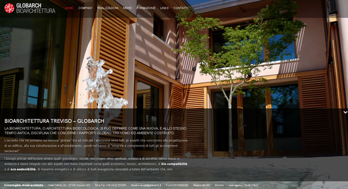 Siti web architetti idee di design per la casa - Siti design casa ...