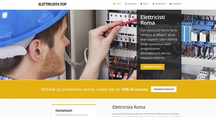 26fbbf7528 Alcuni esempi di siti internet per Elettricisti: